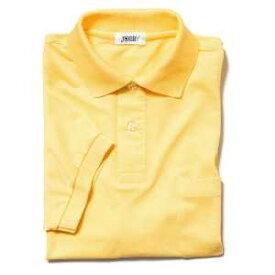 半袖ポロシャツ(Men's & Ladies)7色[イエロー]M〜5Lサイズ