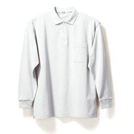 長袖ポロシャツ(Men's & Ladies)7色[ホワイト]M〜5Lサイズ