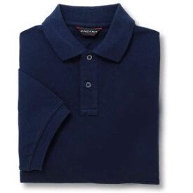半袖ポロシャツ(Men's & Ladies)[ポケット無し]抗菌防臭加工 10色 [ネイビー]M〜5Lサイズ