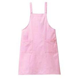 光触媒加工 キレイなエプロン(Men's & Ladies) 20色 抗菌・消臭効果(ピンク)
