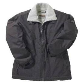 軽量防水 フリースジャケット(MEN'S&LADIES) 撥水・撥油加工 S〜ELL 6色(ブラック)