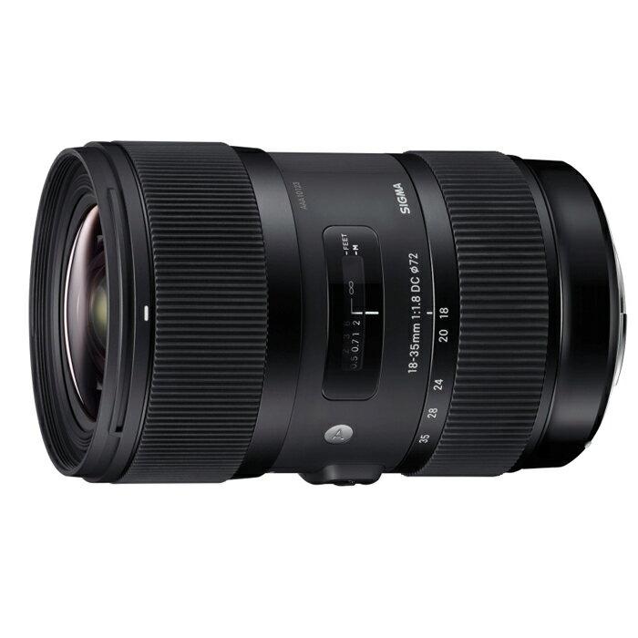 《新品》 SIGMA(シグマ) A 18-35mm F1.8 DC HSM(キヤノン用)[ Lens | 交換レンズ ]【KK9N0D18P】