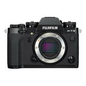 《新品》FUJIFILM (フジフイルム) X-T3 ボディ ブラック[ ミラーレス一眼カメラ   デジタル一眼カメラ   デジタルカメラ ] 【KK9N0D18P】