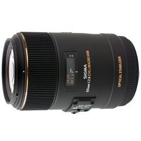 《新品》 SIGMA(シグマ) MACRO 105mm F2.8 EX DG OS HSM(ニコン用)[ Lens | 交換レンズ ]【KK9N0D18P】