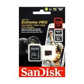《新品アクセサリー》 SanDisk (サンディスク) ExtremePRO microSDXCカード 128GB SDSQXCG-128G-GN6MA 海外パッケージ版