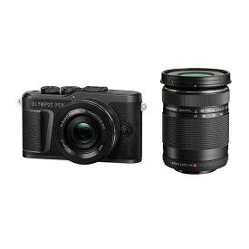 《新品》OLYMPUS (オリンパス) PEN E-PL10 EZダブルズームキット ブラック[ ミラーレス一眼カメラ   デジタル一眼カメラ   デジタルカメラ ] 【KK9N0D18P】