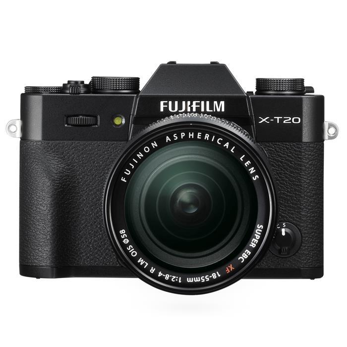 《新品》 FUJIFILM(フジフイルム) X-T20 レンズキット ブラック[ ミラーレス一眼カメラ | デジタル一眼カメラ | デジタルカメラ ]【KK9N0D18P】