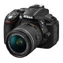 《新品》 Nikon(ニコン) D5300 AF-P 18-55 VR レンズキット ブラック [ デジタル一眼レフカメラ | デジタル一眼カメラ | デジタル...