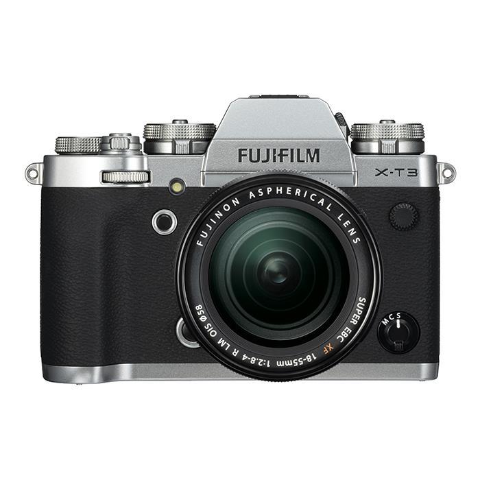 【あす楽】《新品》FUJIFILM (フジフイルム) X-T3 レンズキット シルバー[ ミラーレス一眼カメラ   デジタル一眼カメラ   デジタルカメラ ] 【KK9N0D18P】