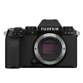《新品》FUJIFILM (フジフイルム) X-S10 ボディ ブラック[ ミラーレス一眼カメラ   デジタル一眼カメラ   デジタルカメラ ] 【KK9N0D18P】