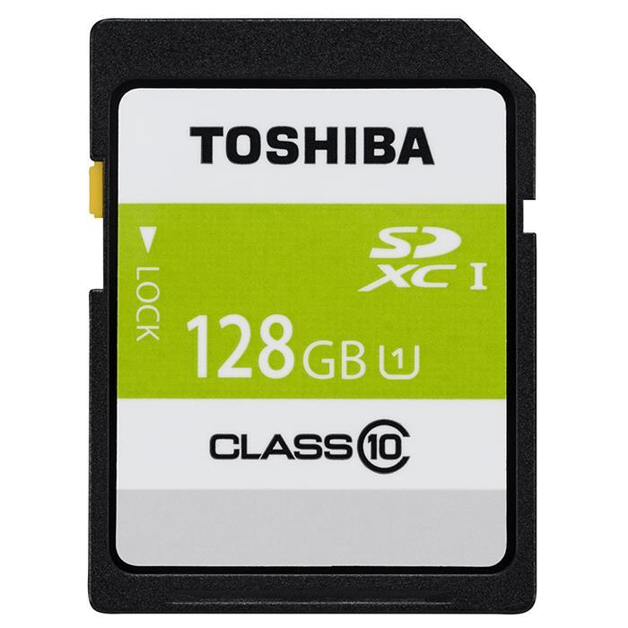 《新品アクセサリー》 TOSHIBA (トウシバ) SDXCカード UHS-1 128GB Class10 SDAR40N128G【KK9N0D18P】