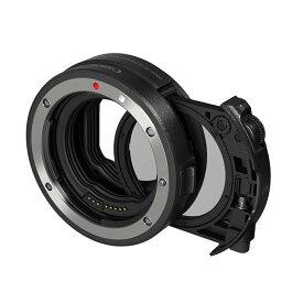 《新品アクセサリー》 Canon (キヤノン) ドロップインフィルターマウントアダプター EF-EOS R 円偏光フィルターA付【KK9N0D18P】