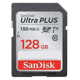 《新品アクセサリー》 SanDisk (サンディスク) UltraPLUS SDHCカード UHS-I 128GB SDSDUW3-128G-JNJIN3661V02901【KK9N0D18P】
