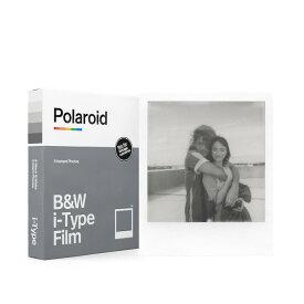 《新品アクセサリー》 Polaroid Originals(ポラロイド オリジナルズ) インスタントフィルム B&W Film for i-Type【KK9N0D18P】