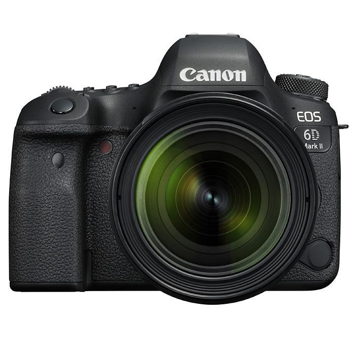 《新品》 Canon(キヤノン) EOS 6D Mark II EF24-70 F4L IS USM レンズキット【Live!フルサイズキャンペーン対象】[ デジタル一眼レフカメラ | デジタル一眼カメラ | デジタルカメラ ]【KK9N0D18P】