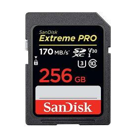 《新品アクセサリー》 SanDisk (サンディスク) ExtremePRO SDXCカード UHS-I 256GB SDSDXXY-256G-GN4IN 海外パッケージ版【KK9N0D18P】