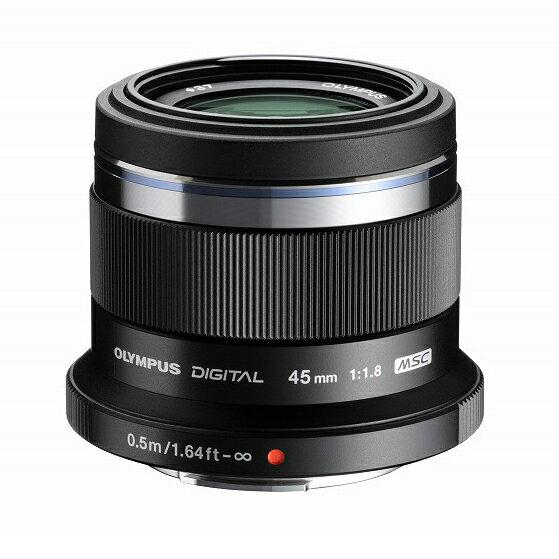 《新品》 OLYMPUS(オリンパス) M.ZUIKO DIGITAL 45mm F1.8 ブラック(マイクロフォーサーズ)[ Lens | 交換レンズ ]〔レンズフード別売〕【KK9N0D18P】