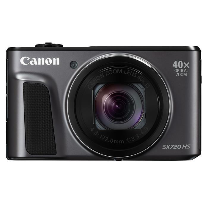 《新品》 Canon(キヤノン) PowerShot SX720 HS ブラック[ コンパクトデジタルカメラ ]【KK9N0D18P】