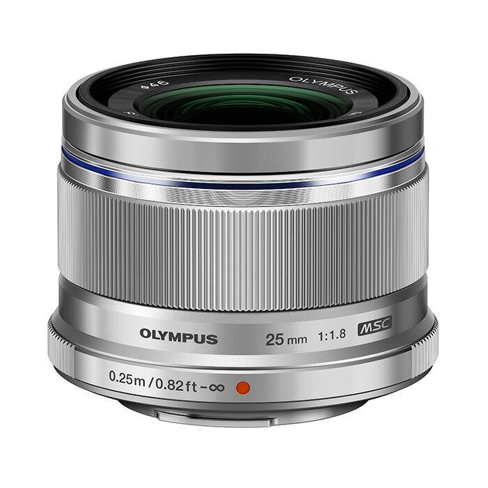 【あす楽】《新品》 OLYMPUS(オリンパス) M.ZUIKO DIGITAL 25mm F1.8 シルバー(マイクロフォーサーズ)[ Lens | 交換レンズ ]【KK9N0D18P】