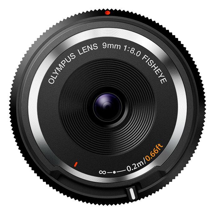 【あす楽】《新品》 OLYMPUS(オリンパス) フィッシュアイボディキャップレンズ(9mm F8.0 FISHEYE) BCL-0980 ブラック[ Lens | 交換レンズ ]【KK9N0D18P】