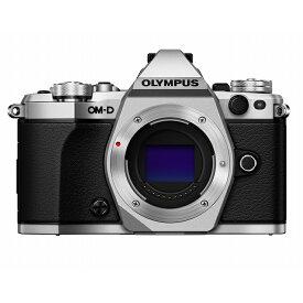 《新品》 OLYMPUS (オリンパス) OM-D E-M5 MarkII ボディ シルバー[ ミラーレス一眼カメラ | デジタル一眼カメラ | デジタルカメラ ]【KK9N0D18P】
