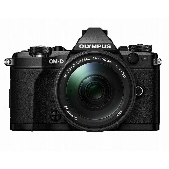《新品》 OLYMPUS (オリンパス) OM-D E-M5 MarkII 14-150mmIIレンズキット ブラック[ ミラーレス一眼カメラ | デジタル一眼カメラ | デジタルカメラ ]【KK9N0D18P】