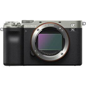 《新品》 SONY (ソニー) α7C ボディ ILCE-7C シルバー [ ミラーレス一眼カメラ   デジタル一眼カメラ   デジタルカメラ ]【KK9N0D18P】