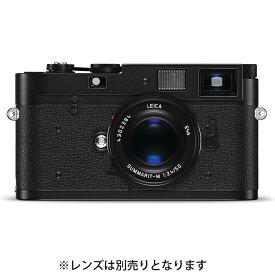 《新品》 Leica(ライカ) M-A(Typ127) ブラッククローム 【下取交換なら¥10,000-お得】【KK9N0D18P】