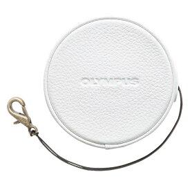 《新品アクセサリー》 OLYMPUS (オリンパス) 本革レンズジャケット LC-60.5GL ホワイト 【KK9N0D18P】