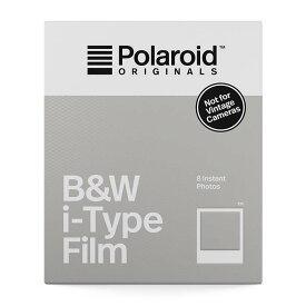 《新品アクセサリー》 Polaroid Originals(ポラロイド オリジナルズ) インスタントフィルム B&W Film for i-Type【KK9N0D18P】【特価品/在庫限り】