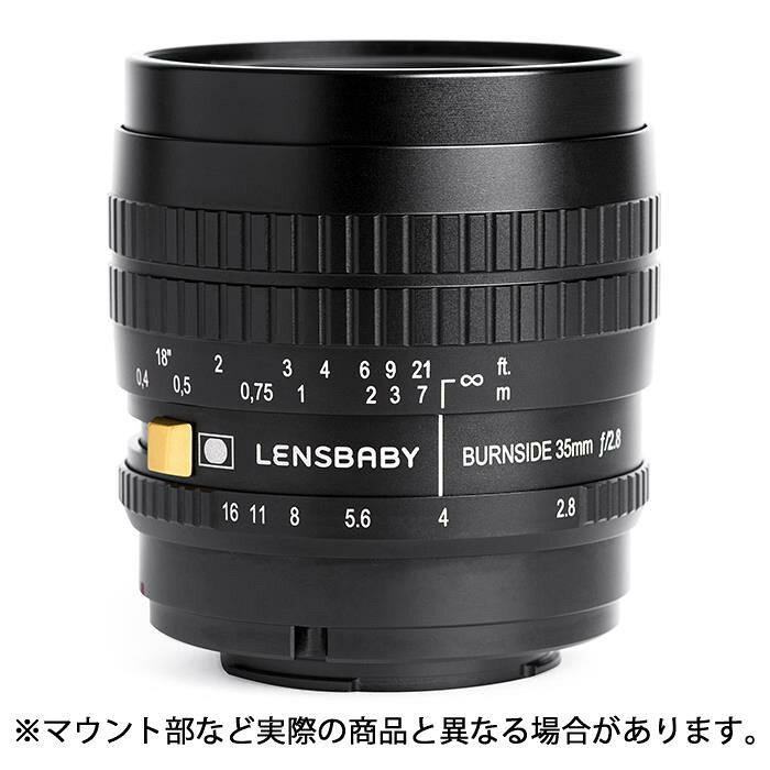 【新品】LensbabyBurnside(バーンサイト)3535mmF2.8