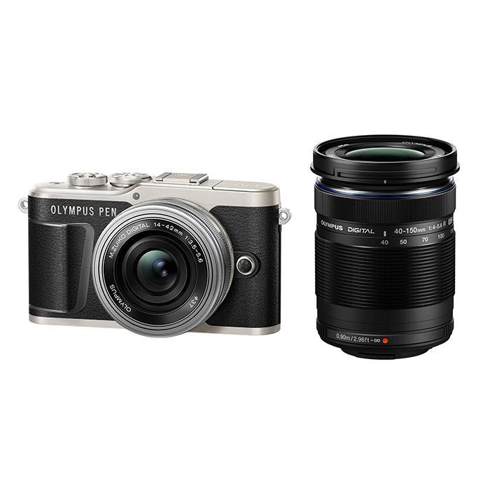 【あす楽】《新品》OLYMPUS (オリンパス) PEN E-PL9 EZダブルズームキット ブラック[ ミラーレス一眼カメラ   デジタル一眼カメラ   デジタルカメラ ] 【KK9N0D18P】