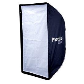 《新品アクセサリー》 Phottix (フォティックス) Raja クイックフォールディングソフトボックス 60x90cm【KK9N0D18P】〔メーカー取寄品〕