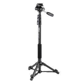 《新品アクセサリー》 Velbon (ベルボン) 自立式4段ビデオアルミ一脚 Pole Pod EX FLUID HEAD 【KK9N0D18P】