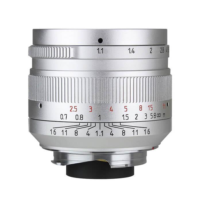 《新品》七工匠 (しちこうしょう) 7artisans 50mm F1.1 シルバー(ライカM用) シルバー [ Lens | 交換レンズ ]【KK9N0D18P】