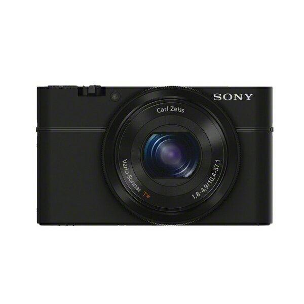 《新品》 SONY(ソニー) Cyber-shot(サイバーショット) DSC-RX100 ブラック[DSCRX100] [ コンパクトデジタルカメラ ]【KK9N0D18P】