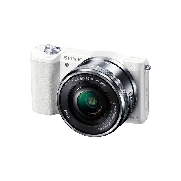 《新品》 SONY(ソニー) α5100パワーズームレンズキット ILCE-5100L ホワイト[ ミラーレス一眼カメラ | デジタル一眼カメラ | デジタルカメラ ]【KK9N0D18P】