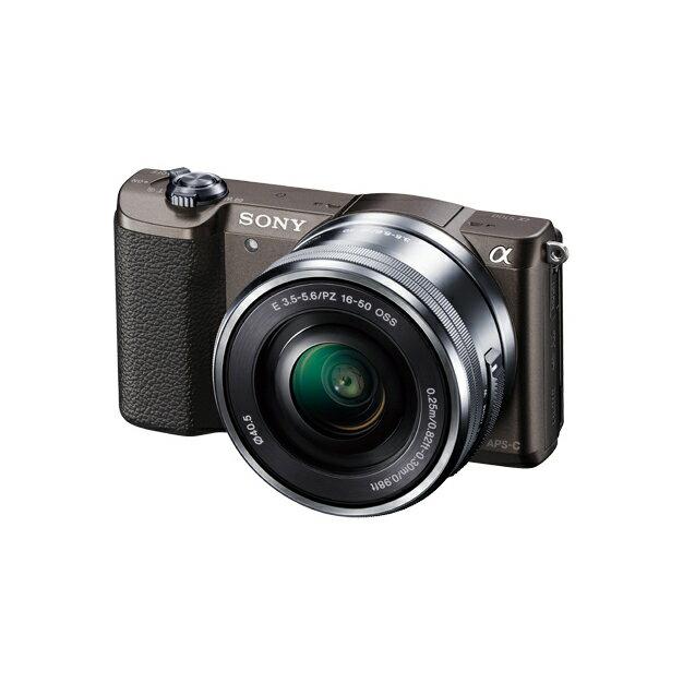 《新品》 SONY(ソニー) α5100パワーズームレンズキット ILCE-5100L ブラウン [ ミラーレス一眼カメラ | デジタル一眼カメラ | デジタルカメラ ]【KK9N0D18P】
