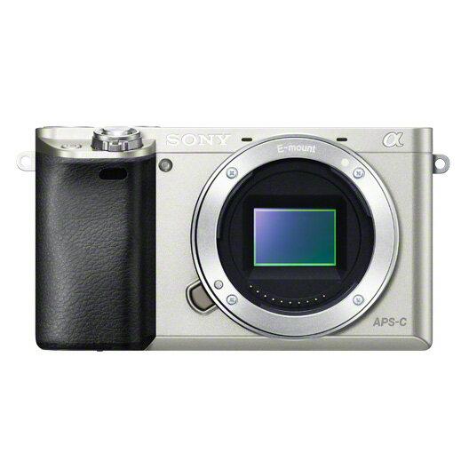 《新品》 SONY(ソニー) α6000ボディ ILCE-6000 S シルバー [ ミラーレス一眼カメラ | デジタル一眼カメラ | デジタルカメラ ]【KK9N0D18P】