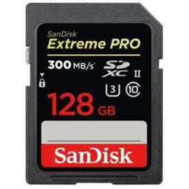 《新品アクセサリー》 SanDisk (サンディスク) ExtremePRO SDXCカード UHS-II 128GB SDSDXPK-128G-JNJIP【KK9N0D18P】
