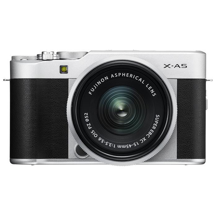 《新品》 FUJIFILM(フジフイルム) X-A5 レンズキット シルバー[ ミラーレス一眼カメラ   デジタル一眼カメラ   デジタルカメラ ] 【KK9N0D18P】