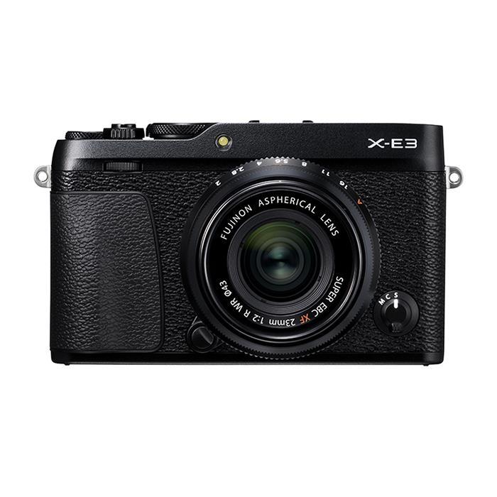 《新品》 FUJIFILM (フジフイルム) X-E3 XF23mm F2 R WRキット ブラック[ ミラーレス一眼カメラ   デジタル一眼カメラ   デジタルカメラ ] 【KK9N0D18P】