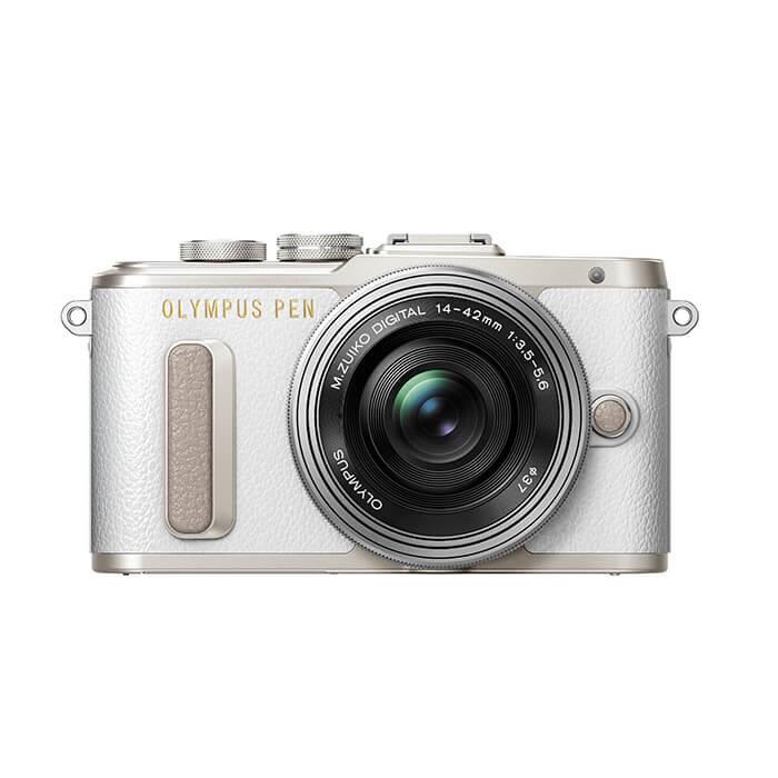 《新品》 OLYMPUS(オリンパス) PEN E-PL8 14-42mm EZレンズキット ホワイト[ ミラーレス一眼カメラ | デジタル一眼カメラ | デジタルカメラ ]【KK9N0D18P】