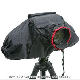 《新品アクセサリー》 Velbon(ベルボン)カメラレインカバー ブラック【KK9N0D18P】