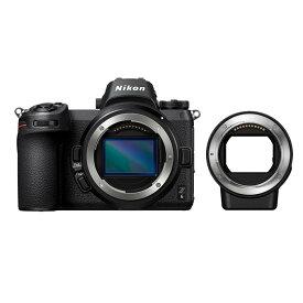 《新品》 Nikon (ニコン) Z6 FTZ マウントアダプターキット[ ミラーレス一眼カメラ | デジタル一眼カメラ | デジタルカメラ ]【KK9N0D18P】【¥20,000-キャッシュバック対象】
