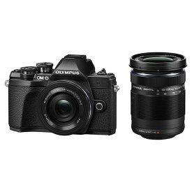 《新品》 OLYMPUS (オリンパス) OM-D E-M10 Mark III EZダブルズームキット ブラック[ ミラーレス一眼カメラ | デジタル一眼カメラ | デジタルカメラ ]【在庫限り(生産完了品)】【KK9N0D18P】