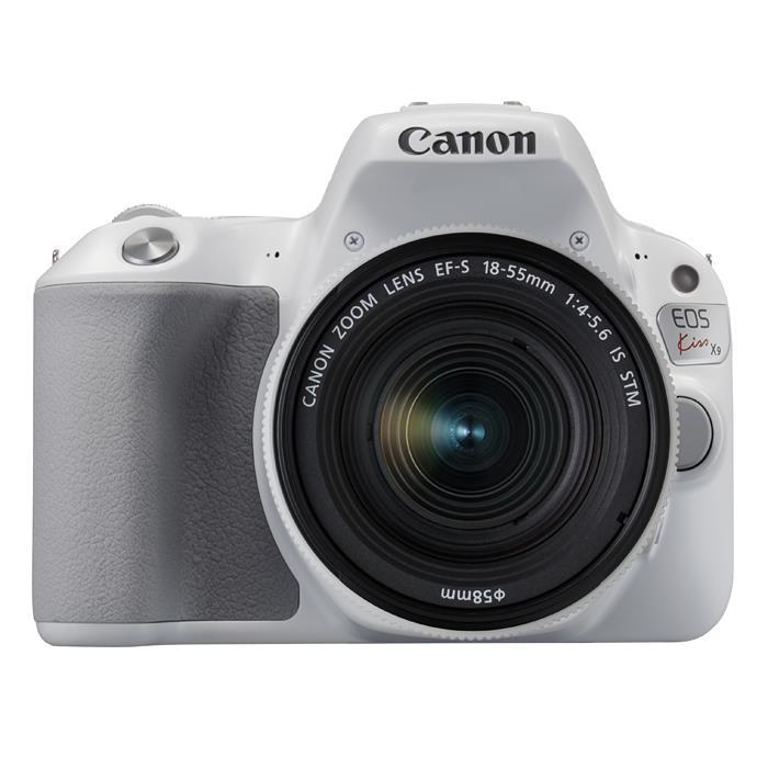 《新品》 Canon(キヤノン) EOS Kiss X9 EF-S18-55 F4 STM レンズキット ホワイト【¥5,000-キャッシュバック対象】[ デジタル一眼レフカメラ   デジタル一眼カメラ   デジタルカメラ ]【KK9N0D18P】