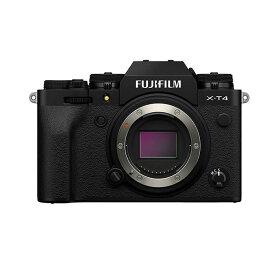 《新品》FUJIFILM (フジフイルム) X-T4 ボディ ブラック【下取交換なら¥30,000-引き】[ ミラーレス一眼カメラ | デジタル一眼カメラ | デジタルカメラ ] 【KK9N0D18P】