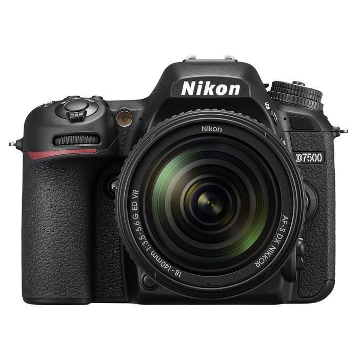 《新品》 Nikon(ニコン) D7500 18-140 VR レンズキット【¥10,000-キャッシュバック対象】[ デジタル一眼レフカメラ | デジタル一眼カメラ | デジタルカメラ ] 【KK9N0D18P】