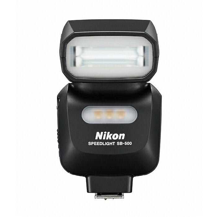 《新品アクセサリー》 Nikon(ニコン) スピードライト SB-500〔ハッセルブラッドX1DでのTTL調光にも対応〕【KK9N0D18P】